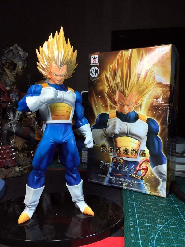 26.28$  Buy here - http://aliek1.shopchina.info/go.php?t=32752659277 - Dragon Ball Z Original SCultures Vegeta Super Saiyan Action Figures 170MM Anime Dragon Ball Z DBZ Collectible Model Toy  #aliexpressideas