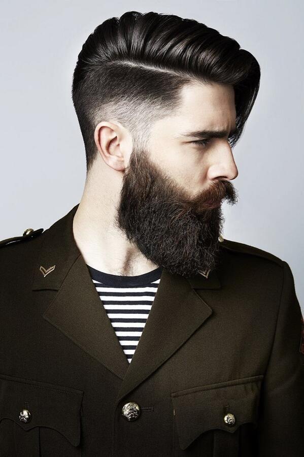 Hair not beard