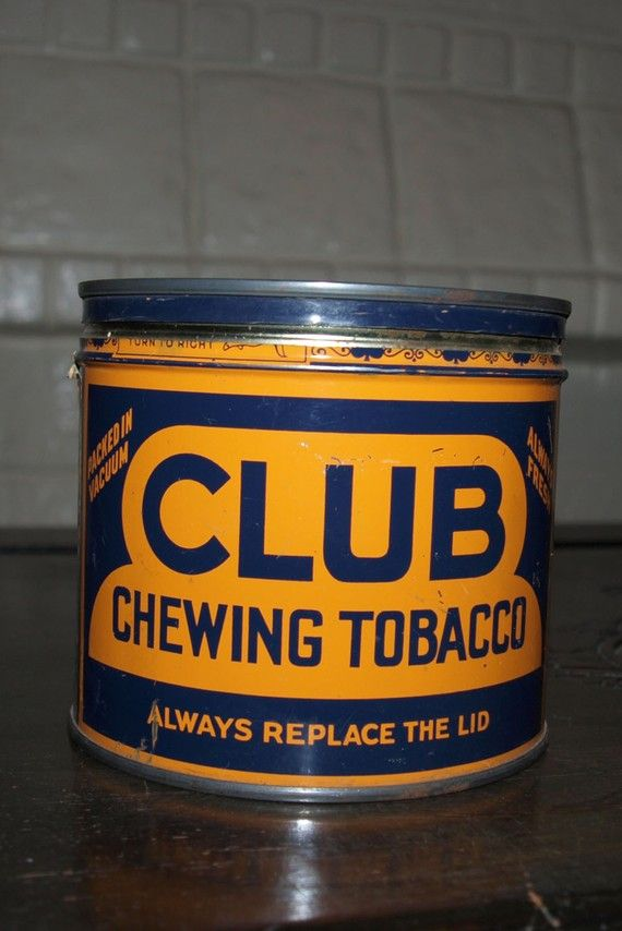Club Chewing Tobacco- Dads favorite brand in the `50s.