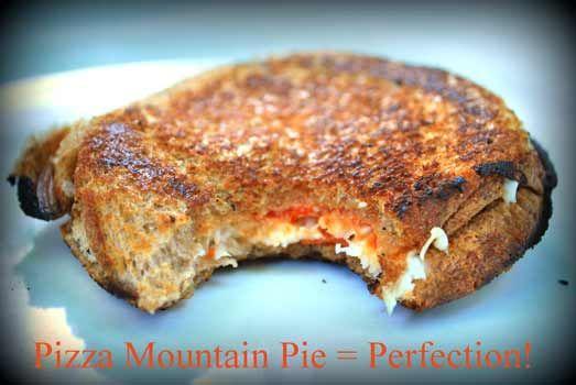 campfire pizza pies