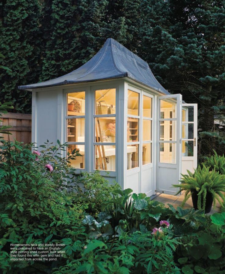Potting shed/writing shed