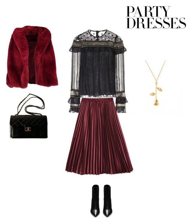 """Party"" by francystyling78 on Polyvore featuring moda, Dodo Bar Or, Yves Saint Laurent, Boohoo e Chanel"