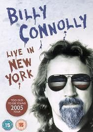 Only £1.59 - Bargain DVDs!! Billy Connolly - Live In New York (DVD 2005) Fast Free Postage