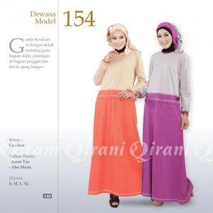 Baju Gamis Qirani Modis Model 154 Terbaru http://distromuslimah.net/baju-gamis-qirani-modis-model-154-terbaru/