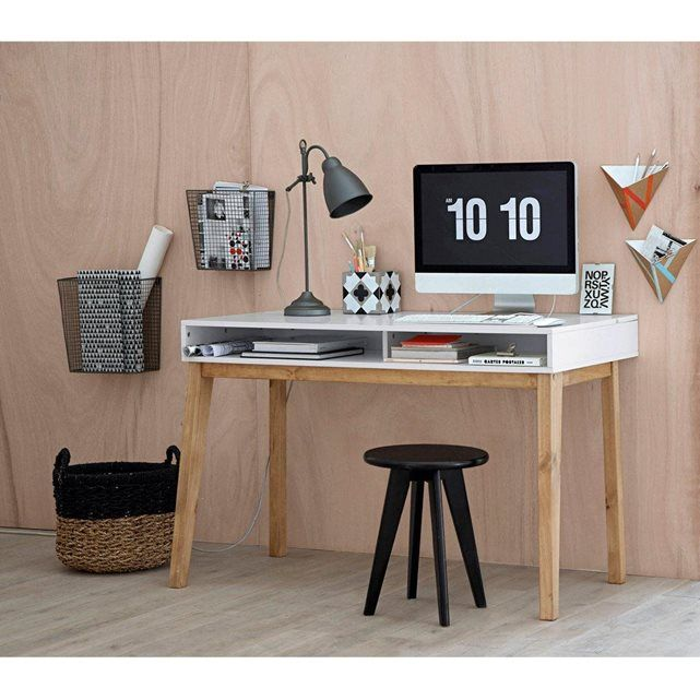 1000 id es sur le th me bureau blanc laqu sur pinterest. Black Bedroom Furniture Sets. Home Design Ideas