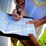 Getting a marriage license and marriage certificate