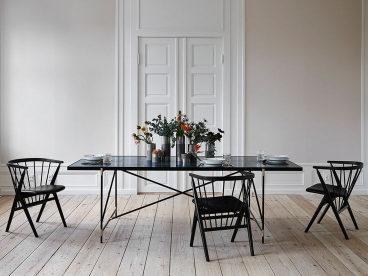The Handvark marble dining table was not only a design challenge; it was an engineering task. Marble is both heavy and delicate so it took many prototypes to create the perfect table.