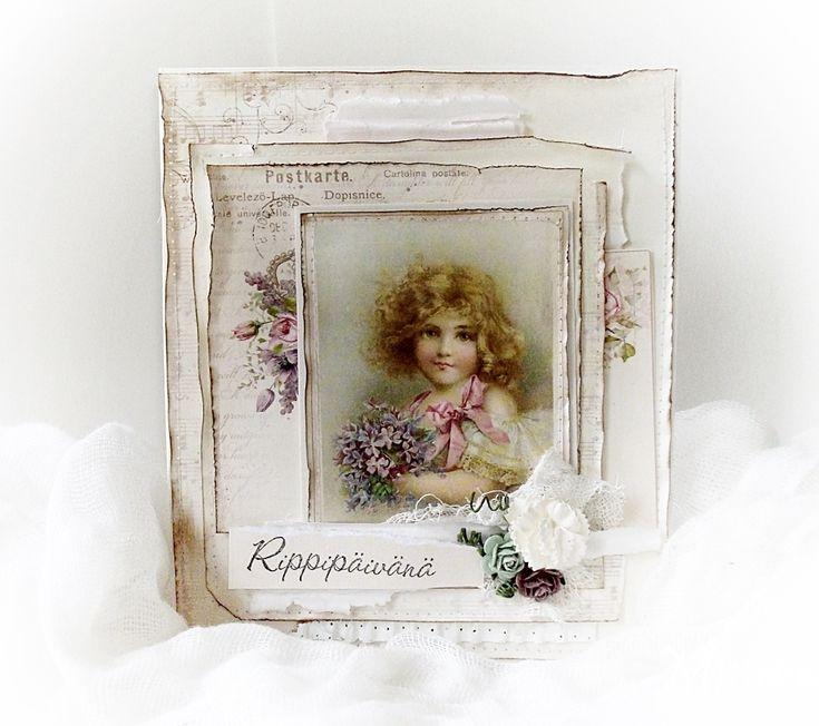 A card - My Precious Daughter/Pion Design