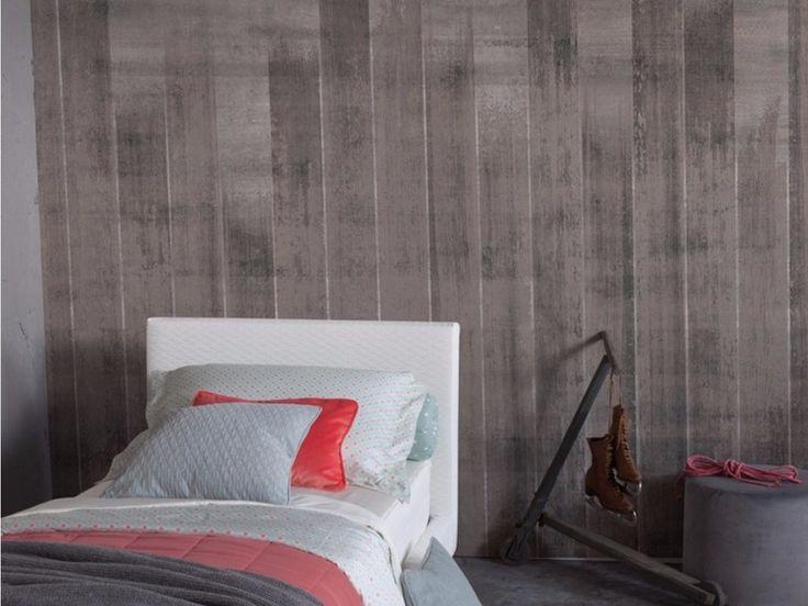 Carta da parati panoramica effetto cemento FENZ Collezione Undressing Surfaces by Inkiostro Bianco design Ink Lab