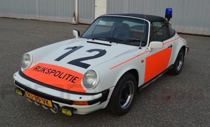 Going Dutch: 1983 Porsche 911 Police Car - http://barnfinds.com/going-dutch-1983-porsche-911-police-car/