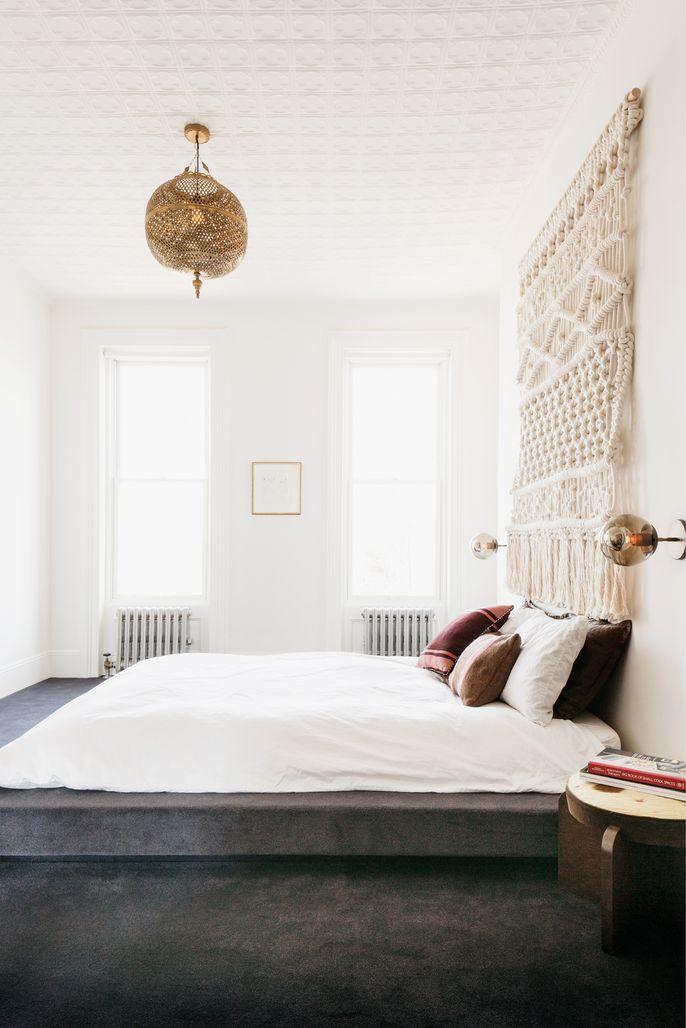 Modern bohemian bedroom | Apartment inspiration, Home bedroom on Modern Bohemian Bedroom Decor  id=95031