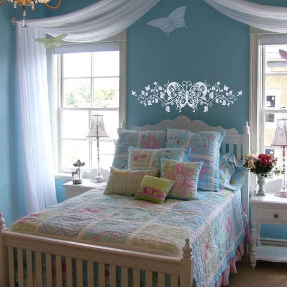 Such a sweet girls room!