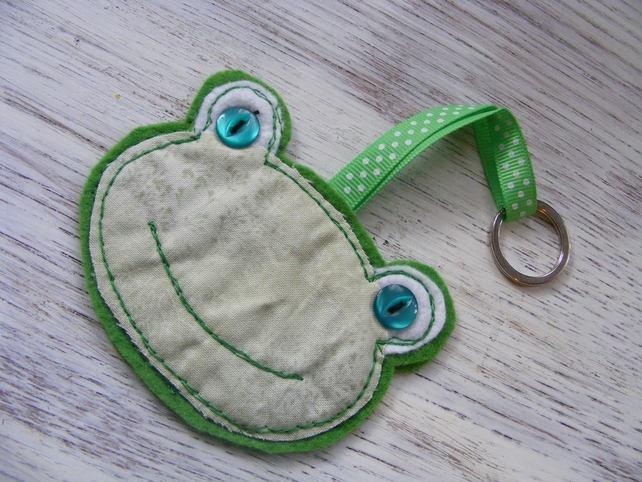 Frog BagCharm Keyring £6.50