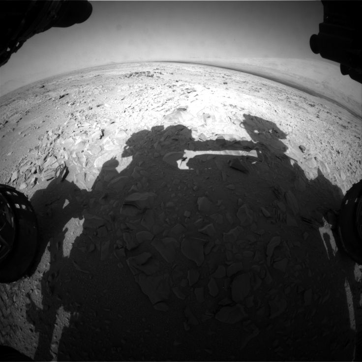 Mars Rover Photo Shows 'Human Shadow,' Or Maybe It Doesn't