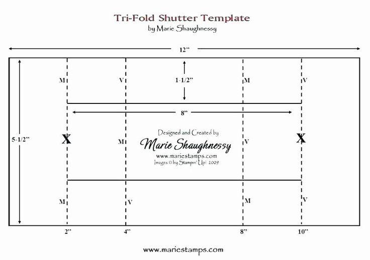 quarter fold card template word in 2020  dreidimensionale