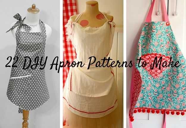 22 DIY Apron Patterns | | 123 DIY Apron Pattern Ideas That Will Inspire You In The Kitchen
