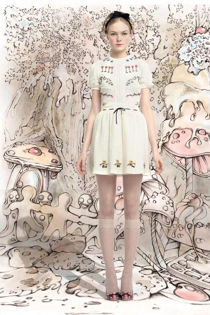 Fall winter 2013 fashion trends for women - Red Valentino Autumn Winter 2013 2014