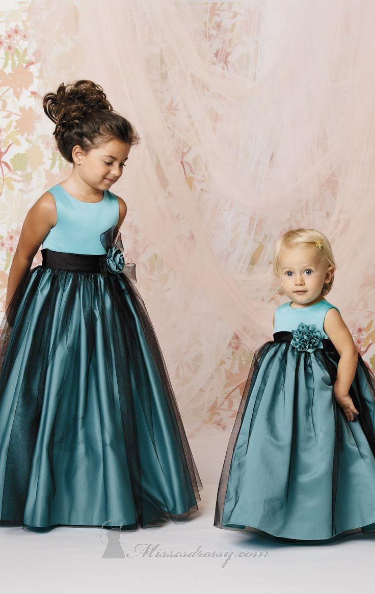 Jordan L278 Dress (http://www.missesdressy.com/floral-embellished-gown-jordan-sweet-beginnings-collection-p-34617.html) #wedding #bridesmaids #flowergirls