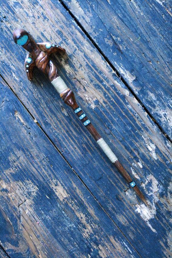 Handmade wand