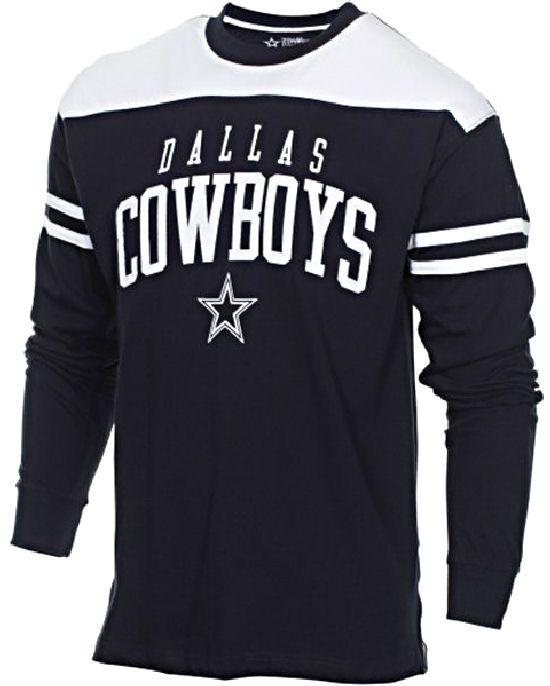 Dallas Cowboys Mens Bravery Embroidered Long Sleeve T Shirt  34.95 ... 2bacb9b5e