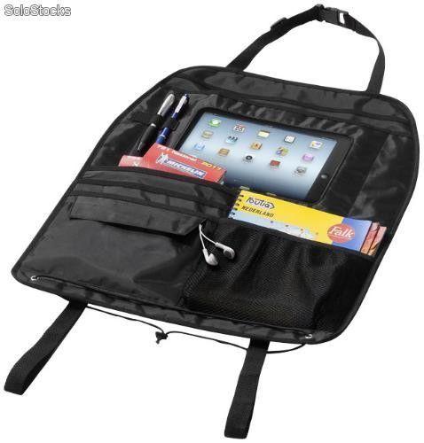 Organizador respaldo asiento coche con compartimento para iPad