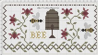 Free pattern - website in Hungarian - I cut and pasted the graphic into Word to print