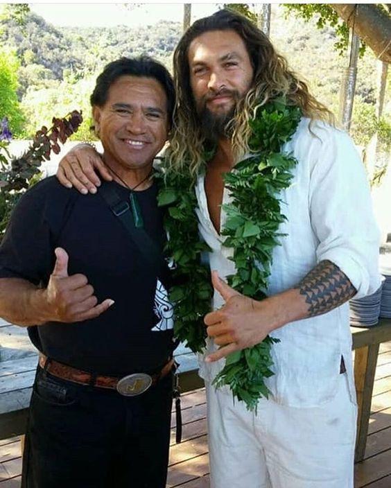Jason Momoa And His Dad