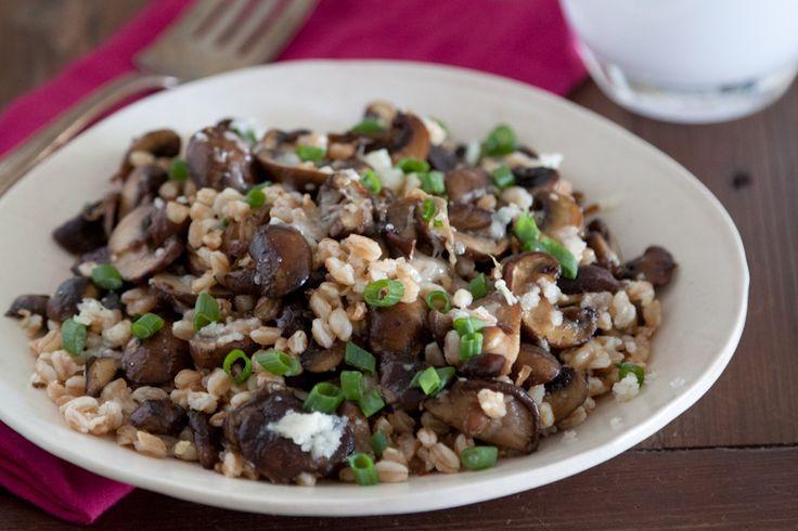 Farro, Salad Recipes, Vegetarian Farro, Fontina Salad, Farro Salad
