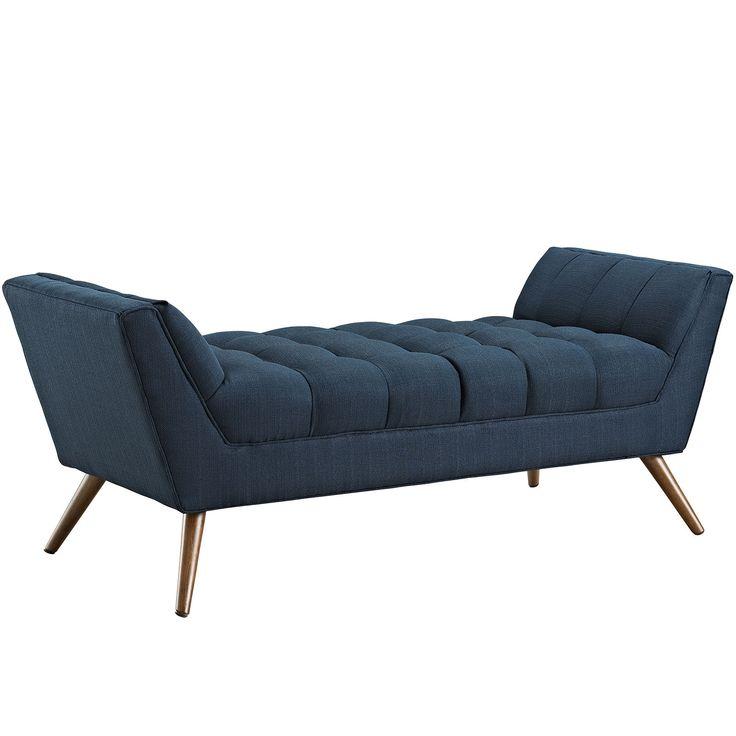 Modway Furniture Modern Response Medium Fabric Bench