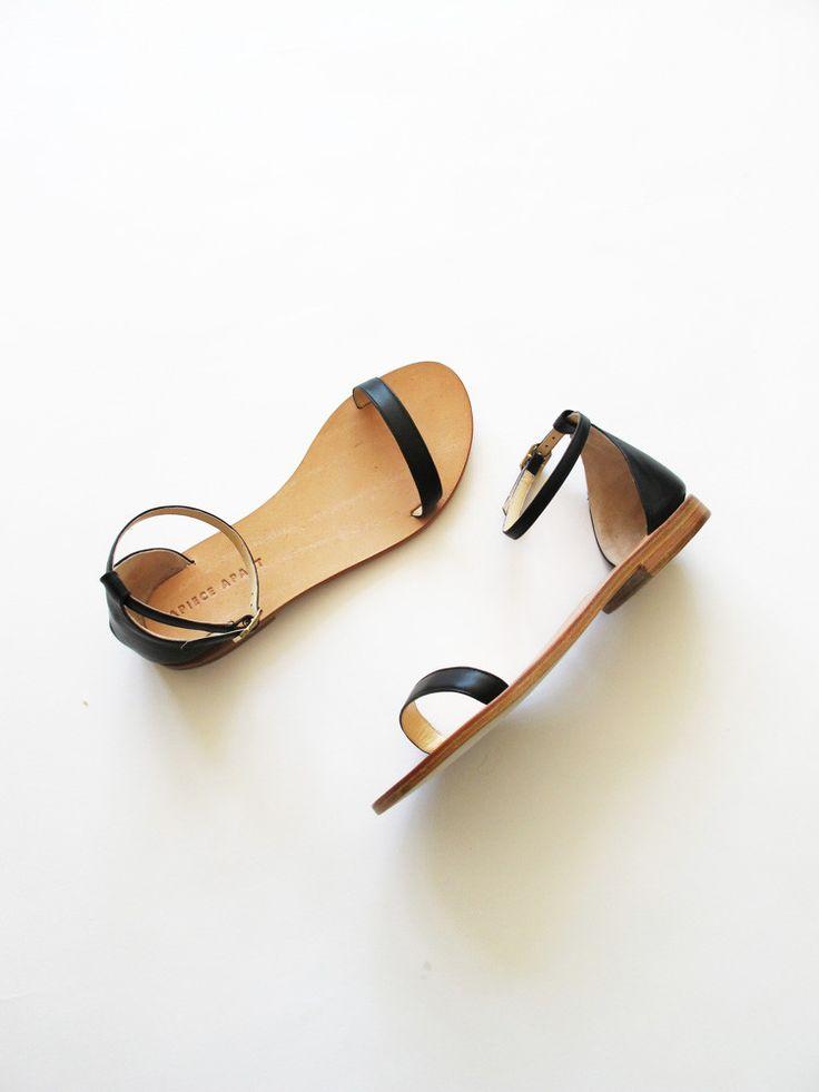 Apiece Apart Il Sandolo Sandal - Black