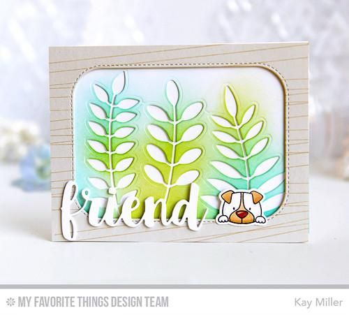 My Favorite Things - INSIDE & OUT STITCHED ROUNDED RECTANGLE - Die-nam – Hallmark Scrapbook