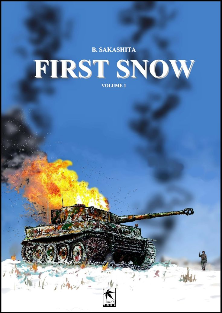 """First Snow"" Cover. B. Sakashita, Toku Publishing, LLC 2018"