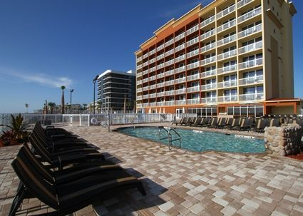 Hampton Inn Daytona Beach/Beachfront, FL - Outdoor Pool