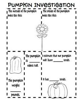 Pumpkin Math Worksheets For Preschoolers 7 Kindergarten