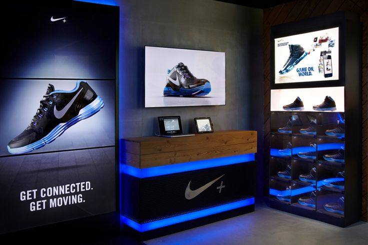 the complex is digitally enabled connecting athletes to various nike programs