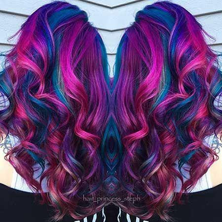 2. Purple Mermaid Hair