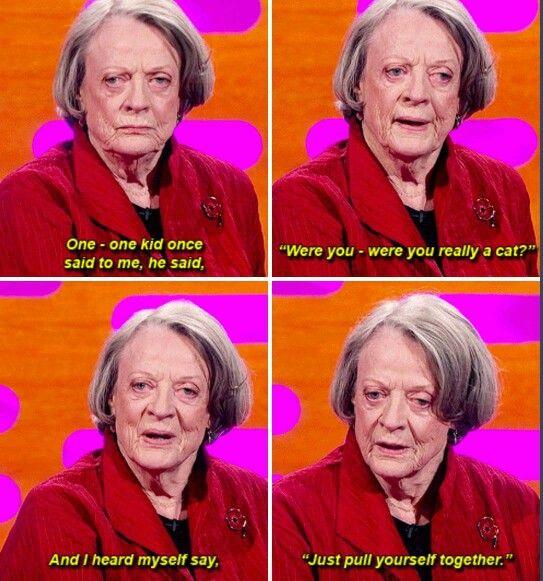 Dame Maggie Smith - Minerva McGonagall