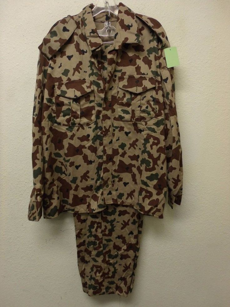 Iraqi Military Forces Desert Block Camouflage National Guard Uniform Set (A2473)