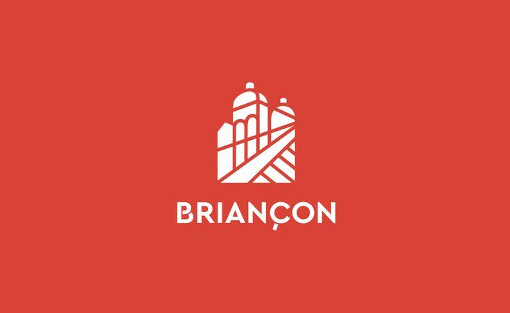 Le nouveau logo de la ville la plus haute de France. Voici l'identité visuelle de Briançon !