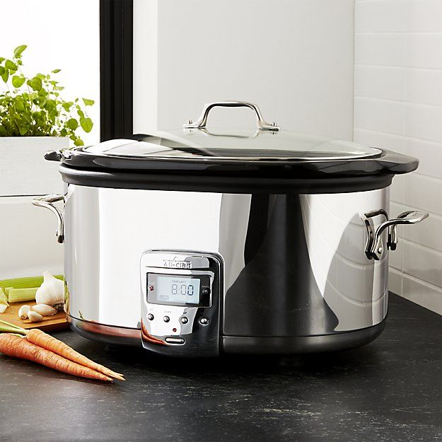 Cook a meal for my friends with the All-Clad ® 6.5 qt. Slow Cooker | Crate and Barrel #FairfieldGrantsWishes
