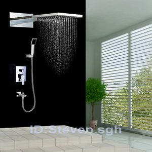 22 Dual Rain Shower Head Handheld Lavatory Trim KIT SET HM  0715 eBay 28 best Daniel images on Pinterest Ceilings plumbing and