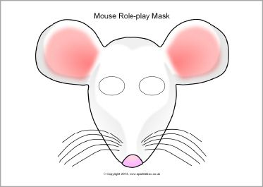 mouse mask template printable - 281 best images about masks on pinterest duck mask