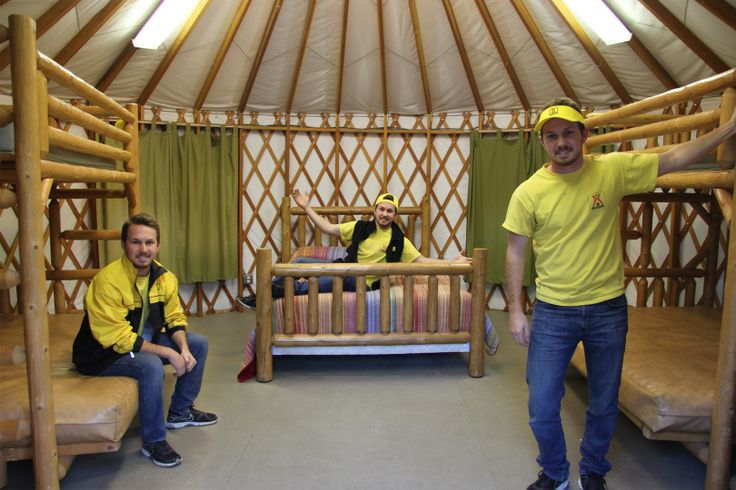 This is a Yurt! You will love it!