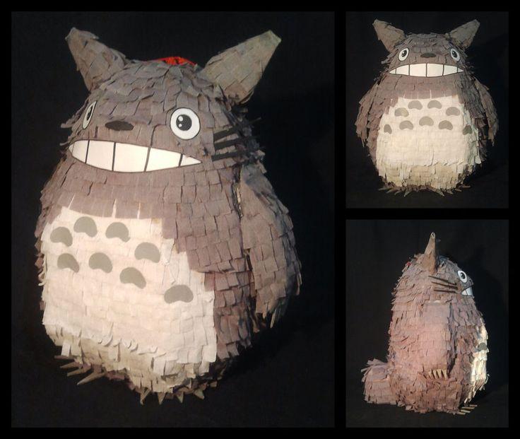 Totoros Pinata by jdonatom on deviantART