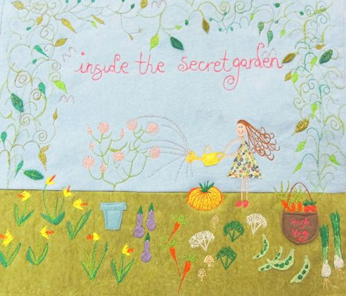 Laura Rose - Inside The Secret Garden - Textiles