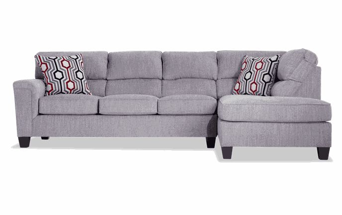 Calvin 2 Piece Almond Beige Left Arm Facing Sectional In