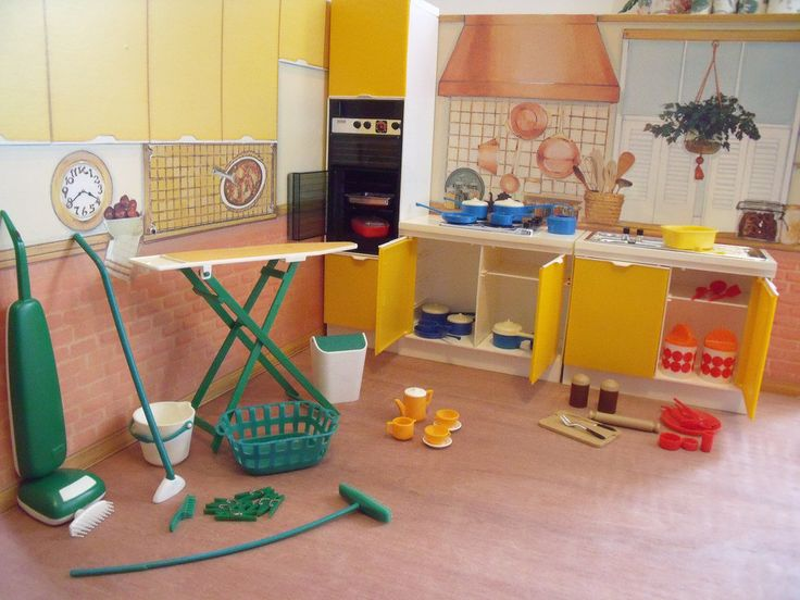 These Are The Kitchen Items From My Recent Haul Of Furniture From Ebay  There Are Duplicates · Dollhouse ...