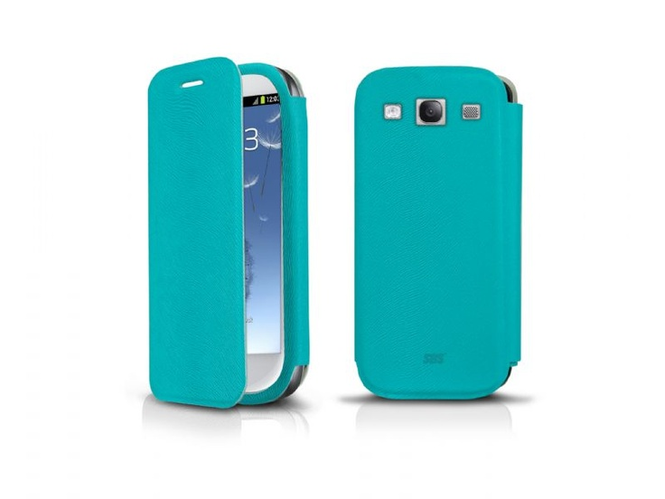 Book case in ecoleather for Samsung Galaxy S III I9300, Light blue color. http://www.sbs-power.com/smartphone/protections_specific-cases/1907_book-case-for-samsung-galaxy-s-iii_TEBOOKS3A.html