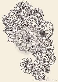 circle henna on paper - Google Search