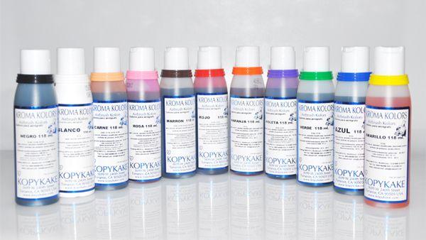 Pigmento alimenticio para repostería Kroma Kolors. Food pingment.